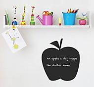 JiuBai™ Fruit Apple Pattern Blackboard Wall Sticker Wall Decal, 36*40cm