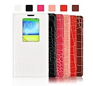 Angibabe Crocodile Pattern Flip Battery Back Leather Case for LG G2 (Assorted Color)