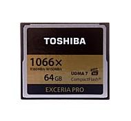 originais toshiba exceria pro cartão de memória UDMA profissional compactflash 64gb 1066x 7 r: 160MB / sw: 95MB / s