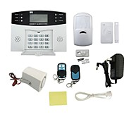 IN-Colour  Infrared Sensor Dual Voice Telephone Line LCD Home Alarm / Shop Security System Alarm