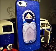 Toophone® JOYLAND Flash Powder TPU Blue Baby Figure Back Case for iPhone 5/5S