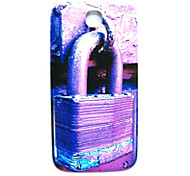 lila dünne Sperrmuster Hard Case für das Samsung Galaxy S4 mini i9190