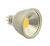 5W GU5.3(MR16) Spot LED 1 COB 400-450LM lm Blanc Chaud / Blanc Froid / Blanc Naturel Gradable DC 12 V