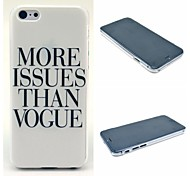 More Issues Than Vogue Pattern Hard Cover for iPhone 6
