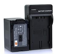 DSTE 7.4v 4000mAh D320 / D28S batteria + caricatore DC60 per PANASONIC NV-ds88 ag-dvc15 fotocamera DVX100