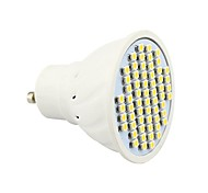 4W GU10 Spot LED MR16 60 SMD 3528 300 lm Blanc Chaud AC 85-265 V