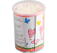 100Pcs  Makeup Cotton  Swabs