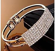pulsera con estilo y elegante rhinestone completo