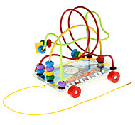 Trail ER Beads Around Puzzle Wooden Education Toys