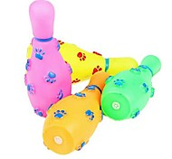 Dogs BQ   Bowling Sounding Toy  (Random Color)