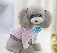 pet fashion contratada camisa xadrez para animais de estimação cães (cores sortidas, tamanhos)