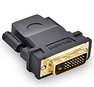 DVI 24+1 to HDMI M/F Adapter Can Transfers for HDMI V1.3/V1.4 1080P