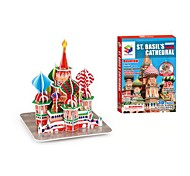 The Saint Basil's Cathedral 3D Puzzles DIY Toys for Children and Adult Jigsaw Puzzle(39PCS)