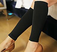 Women'S Short Design Shaping The Lower Leg Ankle Sock Spring And Autumn Fat Burning Calf Socks Black NY031