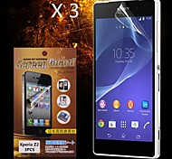 Protective HD Screen Protector  for SONY Xperia Z2(3PCS)