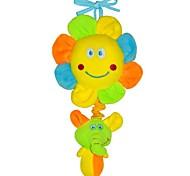 Babyfans ™ Baby Colorful Sunflowers and Elephant Cartoon Shaped Stuffed Music Educational Toys