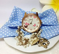 Women's Dress Watch Fabrics and Lace Freshness Shivering Quatz Watches D0188 Cool Watches Unique Watches