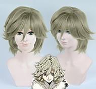 bakumatsu рок Токугава Yoshinobu льняные косплей парик