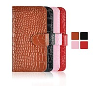 Angibabe Crocodile Pattern Genuine Leather Cover for iPhone 6