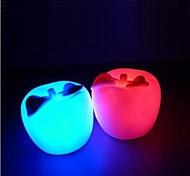 folha da maçã luz da noite design de plástico verde (x1pcs cor aleatória)