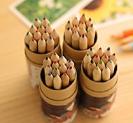 Multicolor Cute Design Painting Plastic Water Color Pens (12pcs)