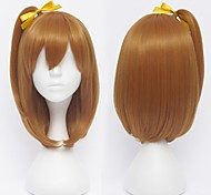 Love Live!Kousaka Honoka Orange Brown Cosplay Wig