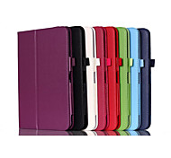 Shy Bear™ Litchi PU Leather Stand Cover Case for LG V700 10.1 Inch Tablet