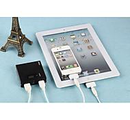 batería externa Shaddock banco de la energía 4400mah portátil para dispositivos de teléfono móvil / smartphone