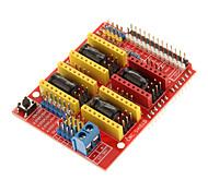 3d0021 ЧПУ щит v3 гравировальный станок / 3D принтер / a4988 плата расширения драйвер Arduino