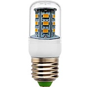 E26/E27 LED Corn Lights T 24 SMD 5730 350 lm Warm White Decorative AC 220-240 V