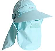 PGM Women's Nylon+Breathable Mesh Acid Blue Sunproof Anti-UV Golf Sunhat