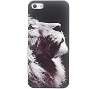 Motivo Lion Unique Hard Case in alluminio per iPhone 4/4S