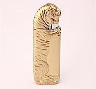 adulte bronze doré d'argent tigre de métal jouets légers