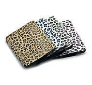 Leopard Grain Style Auto Sleep and Wake Up PU Leather Case for Kindle Paperwhite