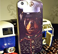 Toophone® JOYLAND Flash Powder TPU The Dog Officer Back Case for iPhone 5/5S