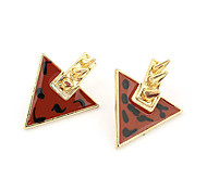 Vintage Style Inverted triangle Rivet Stud Earrings