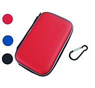 eva carry pele viagem capa dura case bag bolsa para nintendo 3ds xl / xl
