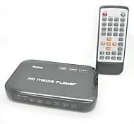 Jesurún JK04 reproductor multimedia full hd 1080p con hdmi / usb / sd / av / YPbPr / vga (negro)
