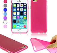 ENKAY Transparent 0.3 mm Ultra-thin Protective TPU Soft Cover for iPhone 6 (Assorted Colors)