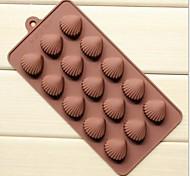 5 отверстий форма Сянь-бай ожог торт льда желе шоколадные формы, силиконовые 21,5 × 10,5 × 1,8 см (8,5 × 4,1 × 0,7 дюйма)
