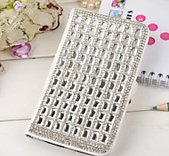 For Samsung Galaxy Case Card Holder / Rhinestone / with Stand / Flip Case Full Body Case 3D Cartoon PU Leather Samsung Grand
