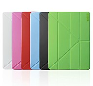 ENKAY Auto Sleep and Wake Up Designed Multi-folding Protective Case with Stand for iPad Air