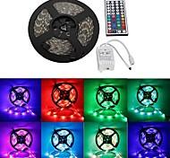 wasserdicht 5m 300x3528 SMD RGB LED-Streifen flexiblen Licht + rgb 44key Fernbedienung (12 V DC)