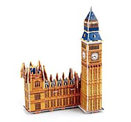 The London Big Ben 3D Puzzles DIY Toys for Children and Adult Jigsaw Puzzle(34PCS)