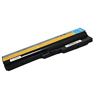 5200mah Replacement Laptop Battery for Lenovo Y430 Y430A V450 L08O6D01 L08S6D01 - Black