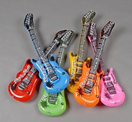 PVC Inflatable Blow Up Cool Guitar Kids Halloween/Beach/Pool/Themed Party Toys(Assorted Color)