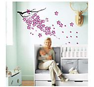 JiuBai™ Flower Pattern Home Decoration Wall Sticker Wall Decal