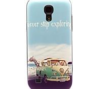 Tier auf den Muster Meer Hartplastik Fällen für Samsung Galaxy S4 Mini i9190