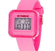 Women's Fashion Watch Digital Watch Wrist watch Quartz Digital PU Band Black White Blue Green Pink