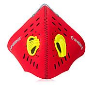 Gesichtsmaske (Rot Radsport)